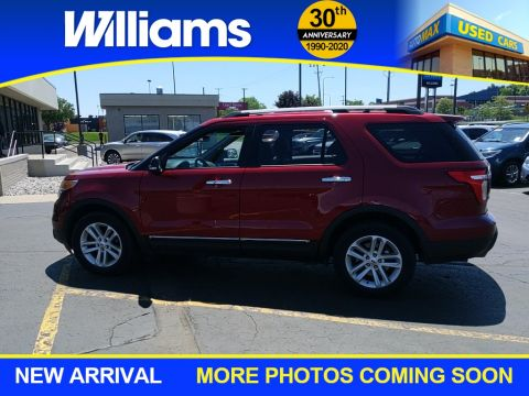 Pre-Owned 2013 Ford Explorer XLT 4WD 4D Sport Utility