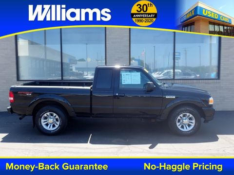 Pre-Owned 2010 Ford Ranger XLT 4WD Super Cab