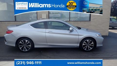 Pre-Owned 2017 Honda Accord EX FWD 2D Coupe